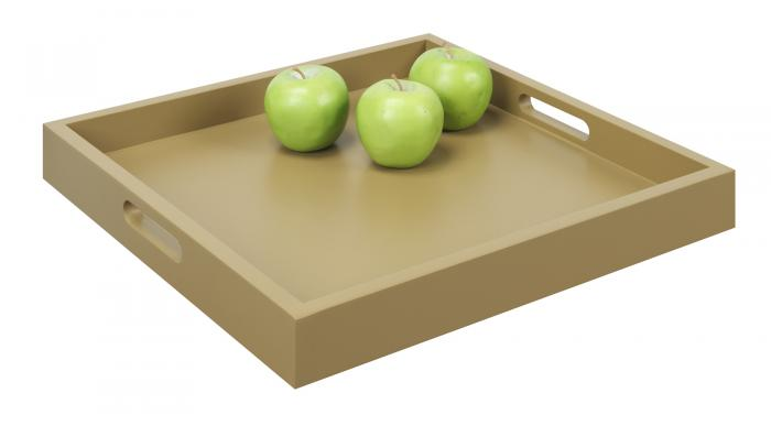 Convenience Concepts Palm Beach Tray, Tan