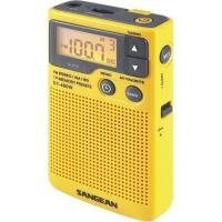 Sangean DT-400W Digital AM/FM Pocket Radio with Weather Alert