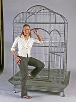 Macaw Dt Cage46x36x78 Slv 2box