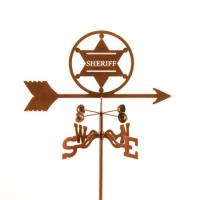 EZ Vane Sheriff 6 pt. Badge Weathervane