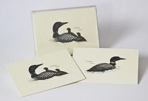 Steven M. Lewers & Associates Loon Notecard Assortment (4 each of 2 styles)