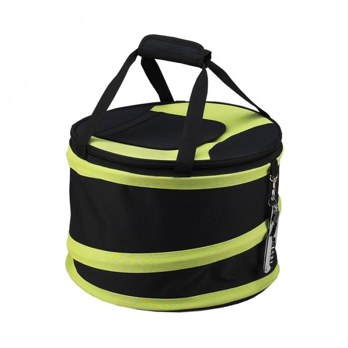 Picnic at Ascot 24 Can Collapsible Cooler -Black/Apple
