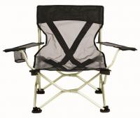 Travel Chair French Cut Chair, Black