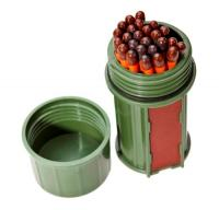 UCO Match Container w/25 Matches - Green