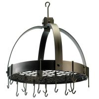 Old Dutch led Bronze Dome Hanging Pot Rack