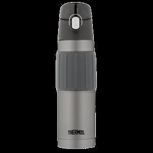 Thermos Vacuum Insulated Stainless Steel Hydration Bottle - 18oz - Charcoal