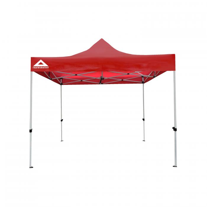 Caddis Sports 10 X 10 Red Rapid Shelter