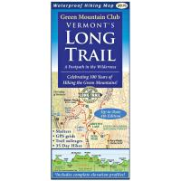Green Mountain Club Vermont's Long Trail: Map & Gd