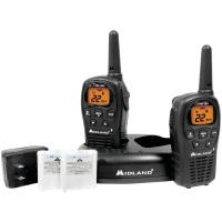 Midland LXT500VP3 24-Mile GMRS Radio Pair Pack with Drop-in Charger & Rechargeable Batteries