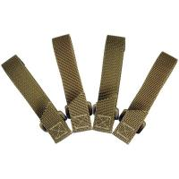 Maxpedition 3 Inch TacTie Khaki 4 Pack