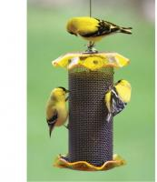 Bird's Choice 1 Qt. Yellow Nyjer Bird Feeder