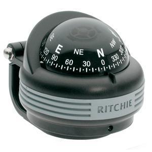 Ritchie TR-31 Trek Compass - Bracket Mount - Black
