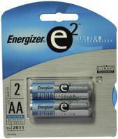 e2 Lithium L91BP-2 Lithium Batteries (AA 2-pk)