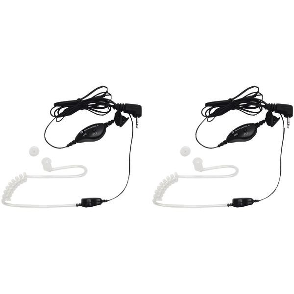 Motorola 1518 2-Way Radio Surveillance Headset with PTT Microphone