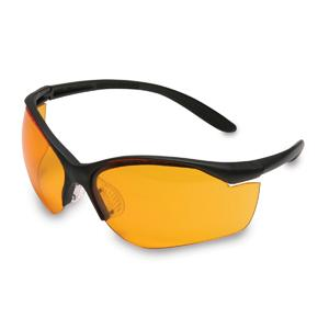 Howard Leight Vapor II, Black Frame, Orange Lens