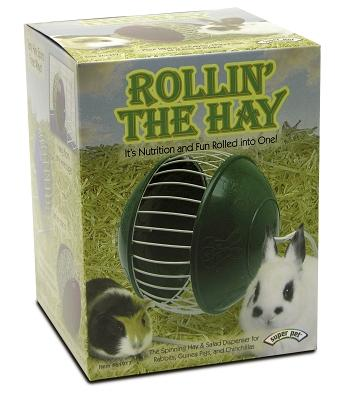 Rollin' The Hay Dispenser