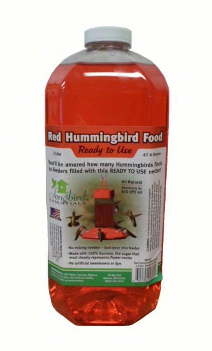 Songbird Essentials 2 Quart (64 oz) Red RTU Nectar