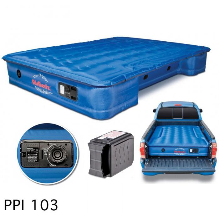AirBedz by Pittman Outdoors (PPI 103) Mid Size 6.0'-6.5' Short Bed with Built-in Rechargeable Battery Air Pump