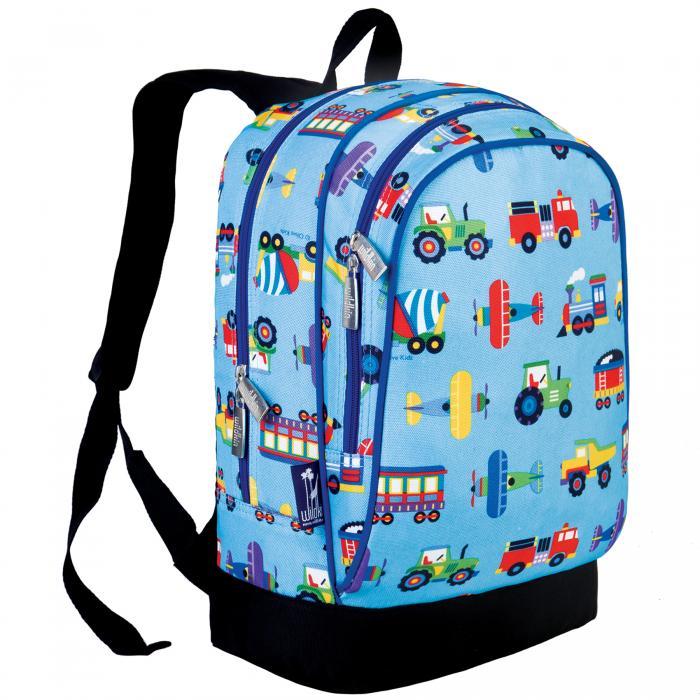 Olive Kids Trains, Planes & Trucks Sidekick Backpack