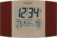 La Crosse Technology Atomic Digital Wall Clock with Forecast & Weather