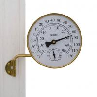 Conant Custom Brass Vermont Weather Station Living Finish Brass