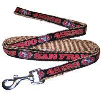 San Francisco 49ers NFL Dog Leash - Medium