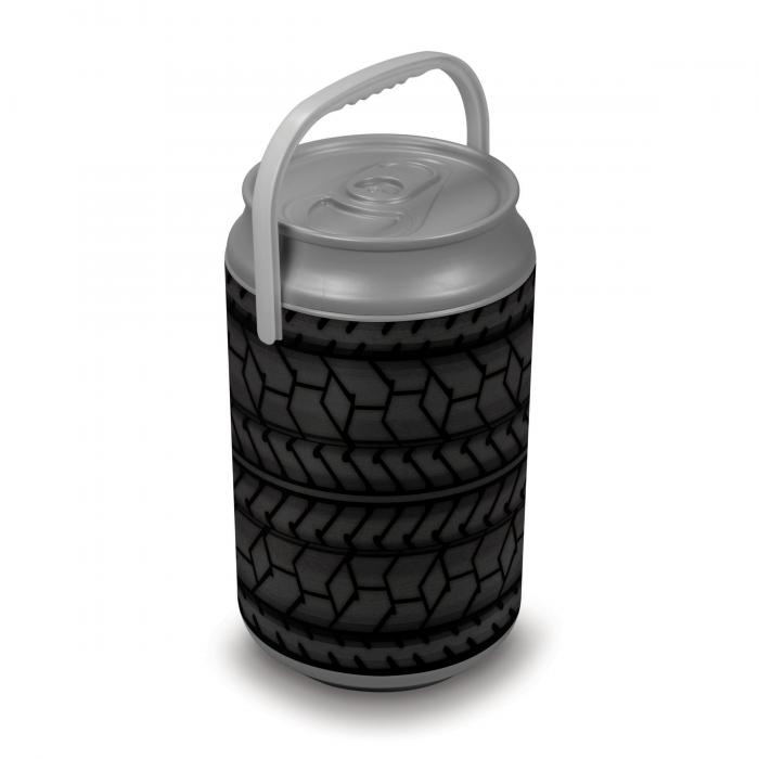 Picnic Time Extra Large Insulated Mega Can Cooler, Car Tire Can