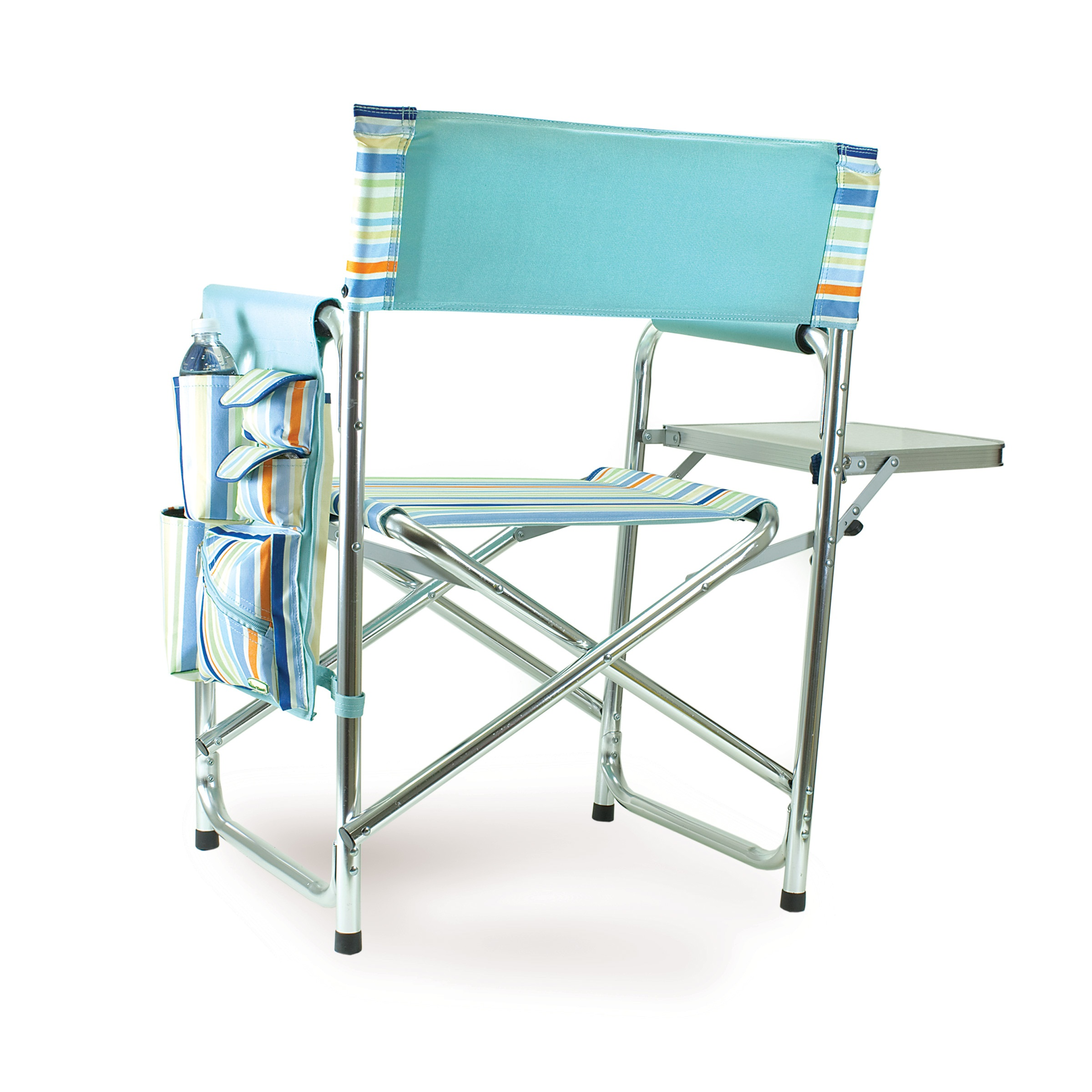 Picnic Time St Tropez Portable Folding Sports Camping Chair