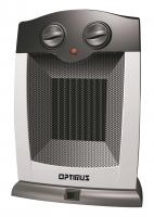 Optimus H7248 Portable Oscillating Ceramic Heater with Thermostat