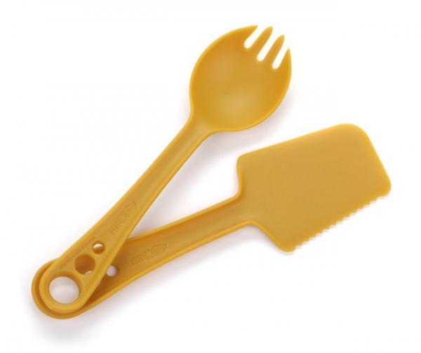 Guyot Designs Microbites Utensils, Tangerine