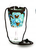 Picnic Plus Wine Glass Lanyard (Set of 2) - Cocoa Cosmos