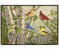 Fiddler's Elbow Backyard Birds Doormat