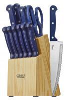 Ginsu Essential Series 14 Piece Cutlery Set, Blue
