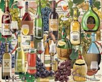 White Mountain Puzzles Wine Country 1000 Piece Puzzle