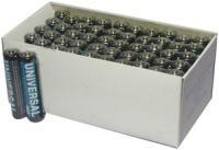 Universal Battery D5323/D5923 Super Heavy-Duty Battery Value Box (AAA 50-pk)