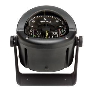 Ritchie HB-741 Helmsman Compass - Bracket Mount - Black