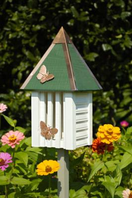 Heartwood Flutterbye Butterfly House, Whitewashed