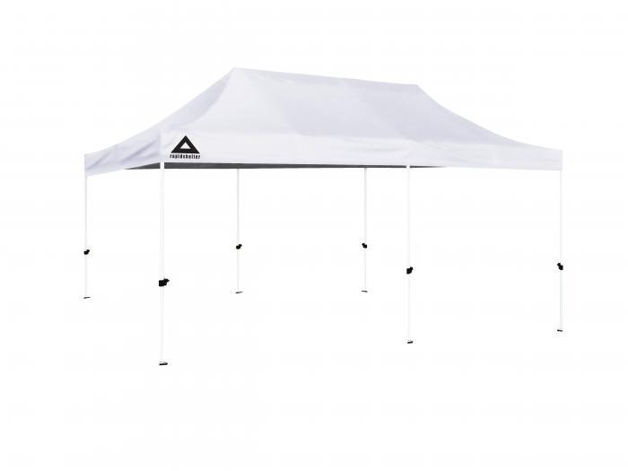 Caddis Aluminum Rapid Shelter : Caddis sports white rapid shelter