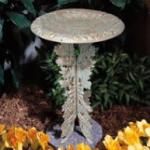 Oakleaf Pedestal Only  - Copper Verdi