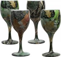 Rivers Edge Products Camo Wine Glasses 4 pack