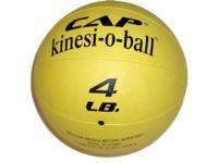 Cap Barbell 4 Pound Medicine Ball - Yellow