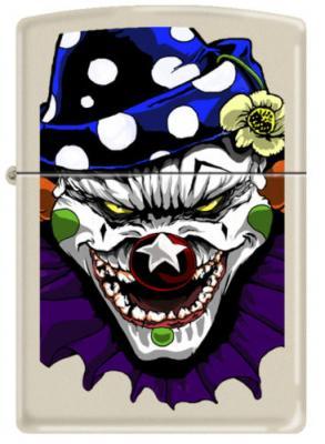 2013N ZIPPO PROCUT CI 000011 - Evil Clown-Matte