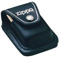 Zippo Leather Lighter Pouch w/Loop, Black