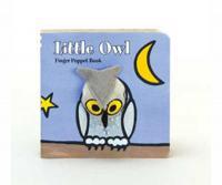 Chronicle Books Little Owl Finger Puppet Book