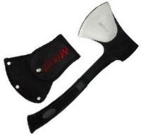 Mtech Traditional Stainless Steel Camping Axe, Black