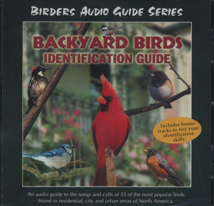 Naturescapes Music Backyard Birds Identification Guide CD