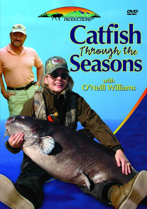 Stoney-Wolf Catfish Through the Seasons DVD