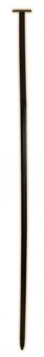 "Hookery 96"" Feeder Pole with Mounting Plate"