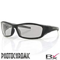 Bobster Action Eyewear Hooligan Sunglasses, Black Frame, Photochromic Lens