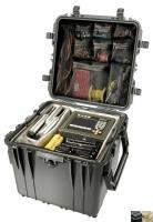 Pelican Products Case with Dividers, Black